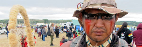 'Where Evil Resides': Veterans 'Deploy' To Standing Rock To Engage The Enemy — The US Government