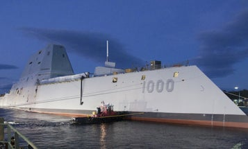The Navy's Brand New, Insanely Expensive Destroyer Just Broke Down