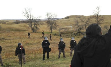 Flooded With Support, Standing Rock Vets Ramp Up Operation And Brace For Showdown