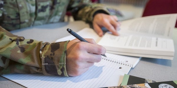 The Pentagon Is Now Deploying Reservists Without Granting GI Bill Benefits