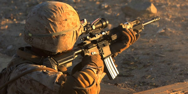 The Marines Are Experimenting With A New Infantry Rifle