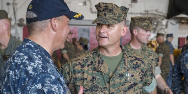 General's Experience As POW Is A Lesson For Young Marines