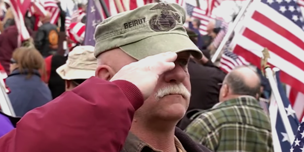Veterans Protest As Hampshire College Removes The Flag From Campus