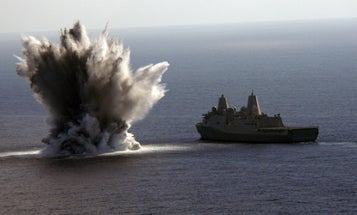Inside The Navy Lab Where They Spend Every Day Thinking Of New Ways To Blow Stuff Up