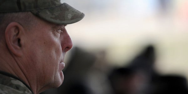 Army Chief Of Staff Has One Clear Message For Troops: 'Be Ready'