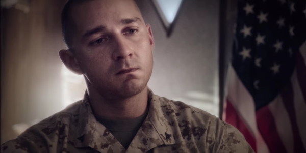 Can Shia LeBeouf Convey The Trauma Of Combat?
