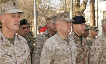 Under SecDef Mattis, 'Fighting Joe' Dunford Could Keep His Job As Joint Chiefs Chair