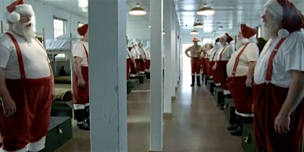 Watch These Santas Get Destroyed By A Hardcore Drill Instructor