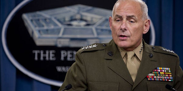 Trump Chooses Retired Marine Gen John Kelly For Homeland Security Secretary