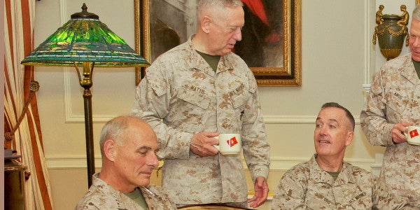 Marine Generals Are Taking Over Trump's Administration