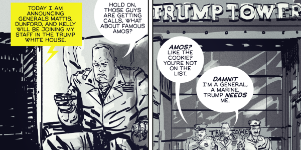 COMIC: When Amos Feels Left Out Of The Marine Corps' Trump Administration Takeover