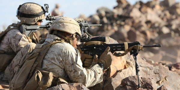 Army Round Triggers Problems In Marine M27 Auto Rifle