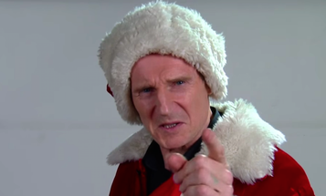 Liam Neeson Just Took The War On Christmas To Another Level
