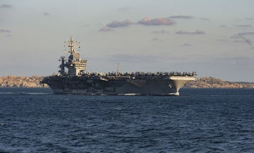 3 French Cops Accidentally Ship Out On The USS Eisenhower