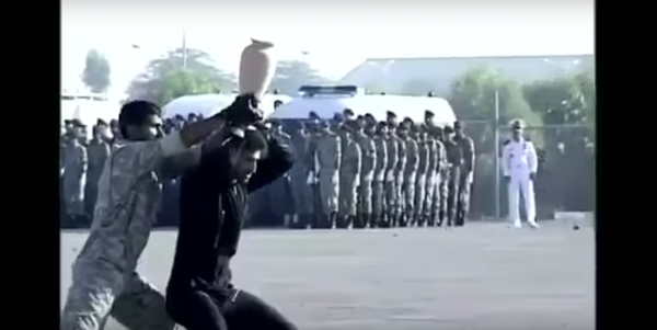 Watch Iranian Commandos Try (And Fail) To Smash A Vase In Epic Karate Showdown