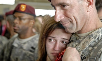 Families Say Goodbye As 82nd Airborne Joins Fight Against ISIS