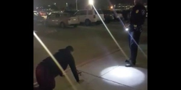 Cop Uses Classic Military Punishment On Teen Caught Smoking Weed