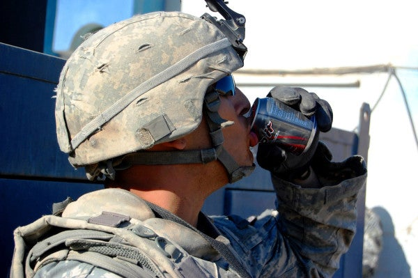 DoD Health Experts Want Troops To Cut Back On Energy Drinks