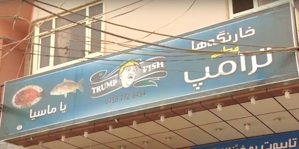Iraqi Man Is So Confident Trump Will Beat ISIS He Named His Restaurant After Him
