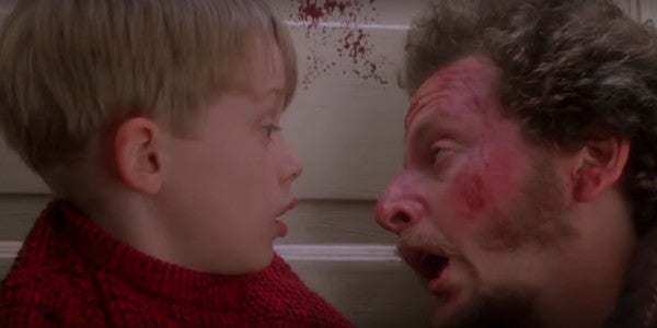 Someone Added Blood Splatter To The End Of 'Home Alone'