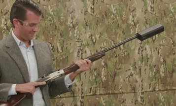 Trump Jr Wants To Make It Easier To Buy Silencers