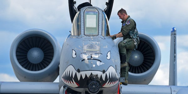 A-10 Warthogs Receive Next-Generation, Search-And-Rescue Upgrade