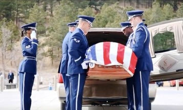 Heartbreak At Air Force Academy After Double Funeral For Cadet And His Father