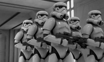 How an imperial officer evaluates stormtrooper performance