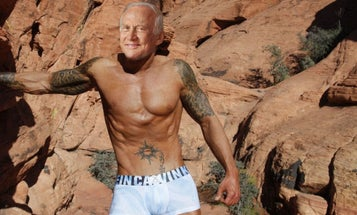 Astronaut Buzz Aldrin Will Model For An Underwear Fashion Icon