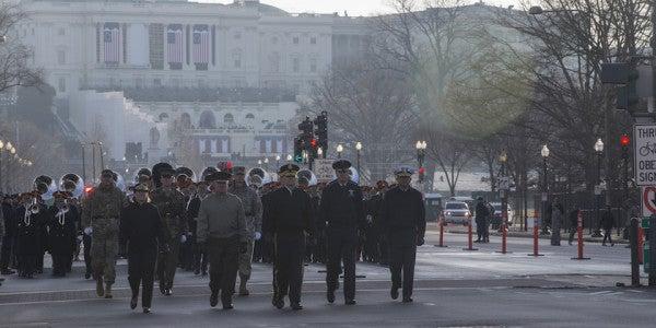 Marines Warn Against Too Much Fun At Trump's Inauguration