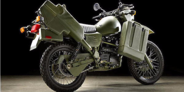 You Can Buy This Badass Military-Inspired Harley Right Now