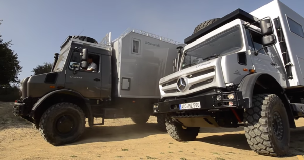 This Crazy RV Is Like A House With 4-Wheel Drive