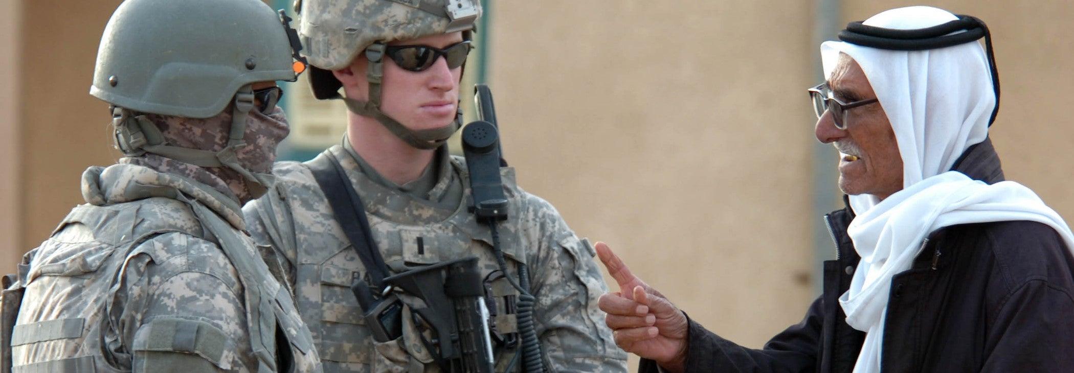 Iraqi Translator Becomes U.S. Airman
