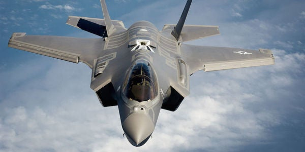 Trump Says He Has Reduced The F-35 Price Tag By $600 Million