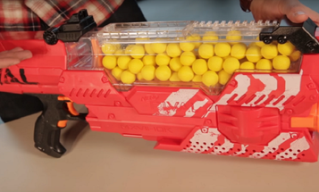 This Nerf Gun Fires Endless Rounds At 70 MPH