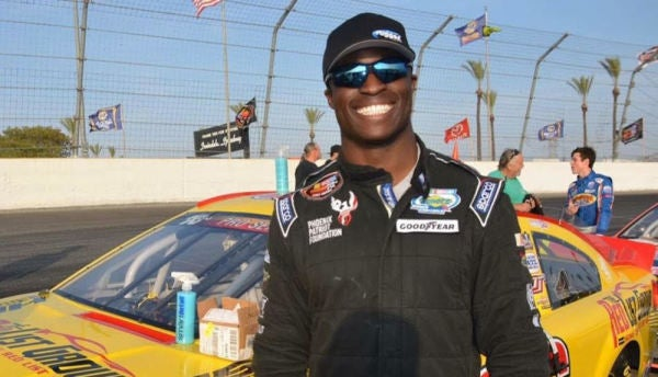 Jesse Iwuji Leads A Double Life As A Naval Officer And A NASCAR Driver