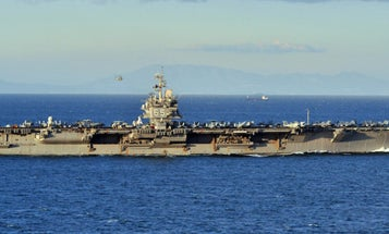 The Navy Is Set To Scrap USS Enterprise, Its First Nuclear Aircraft Carrier