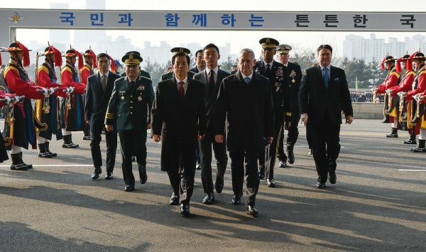 Mattis Tells North Korea Not To Mess With America Or Its Allies