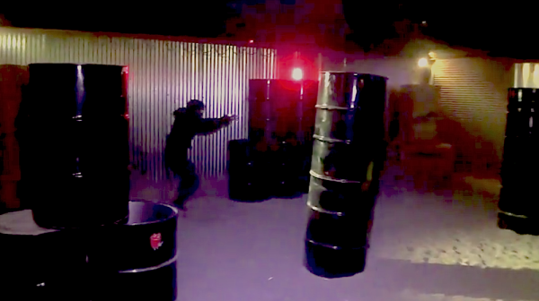 This Savage New Sport Combines Real Guns With MMA