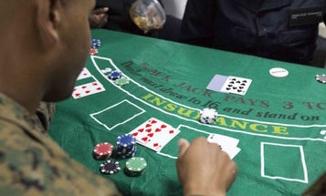 One Government Agency Wants The Pentagon To Screen For Gambling Addictions