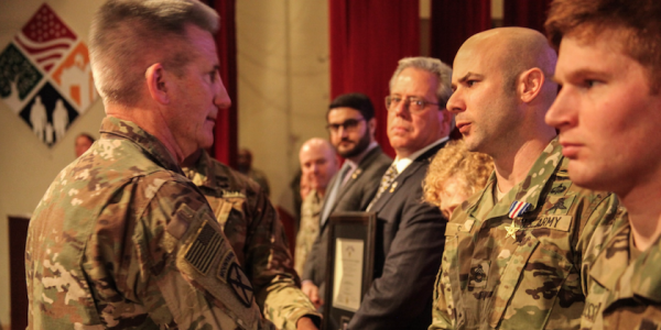 Green Beret Awarded Silver Star For Actions During Recent Battle In Afghanistan