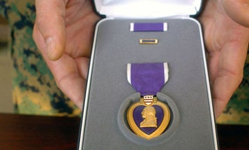 Sons Arrange Purple Heart For 91-Year-Old Father Injured At Iwo Jima