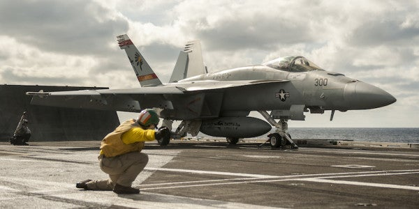 ISIS Is Now Receiving The Wrath Of The USS George H W Bush