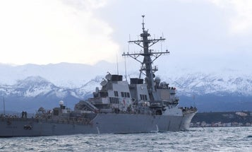 Russian Jets Repeatedly Buzzed A US Destroyer in The Black Sea