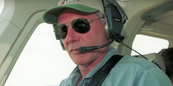 Harrison Ford Just Nearly Hit A Passenger Jet While Landing His Vintage Plane