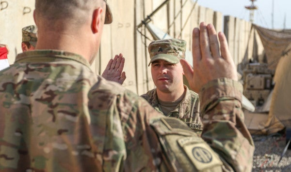 The Army Will Now Offer Cash Bonuses And 2-Year Contracts