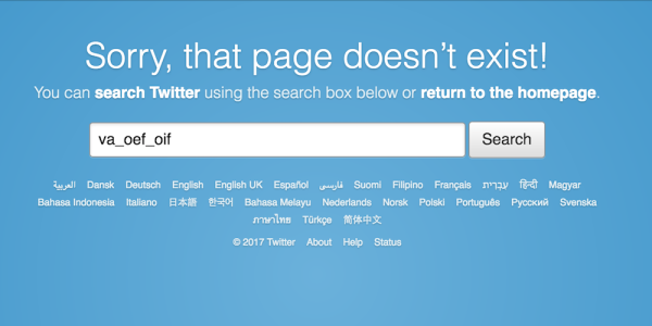 A VA Twitter Account Went Rogue And Then Disappeared Over The Weekend
