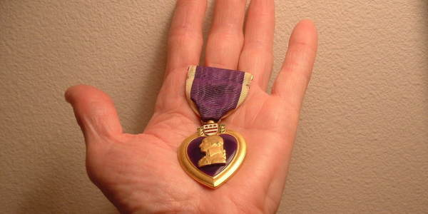 Police Recover Purple Heart Stolen From Vet During Oroville Dam Emergency