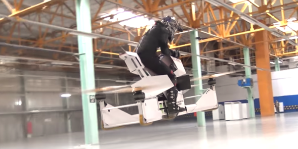 This Hoverbike Is The Stuff Star Wars Fans Dream Of