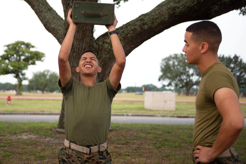 marine combat fitness test